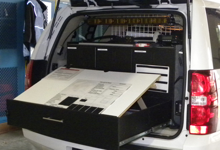 Custom Command Cabinets Emergency Vehicle Cabinets
